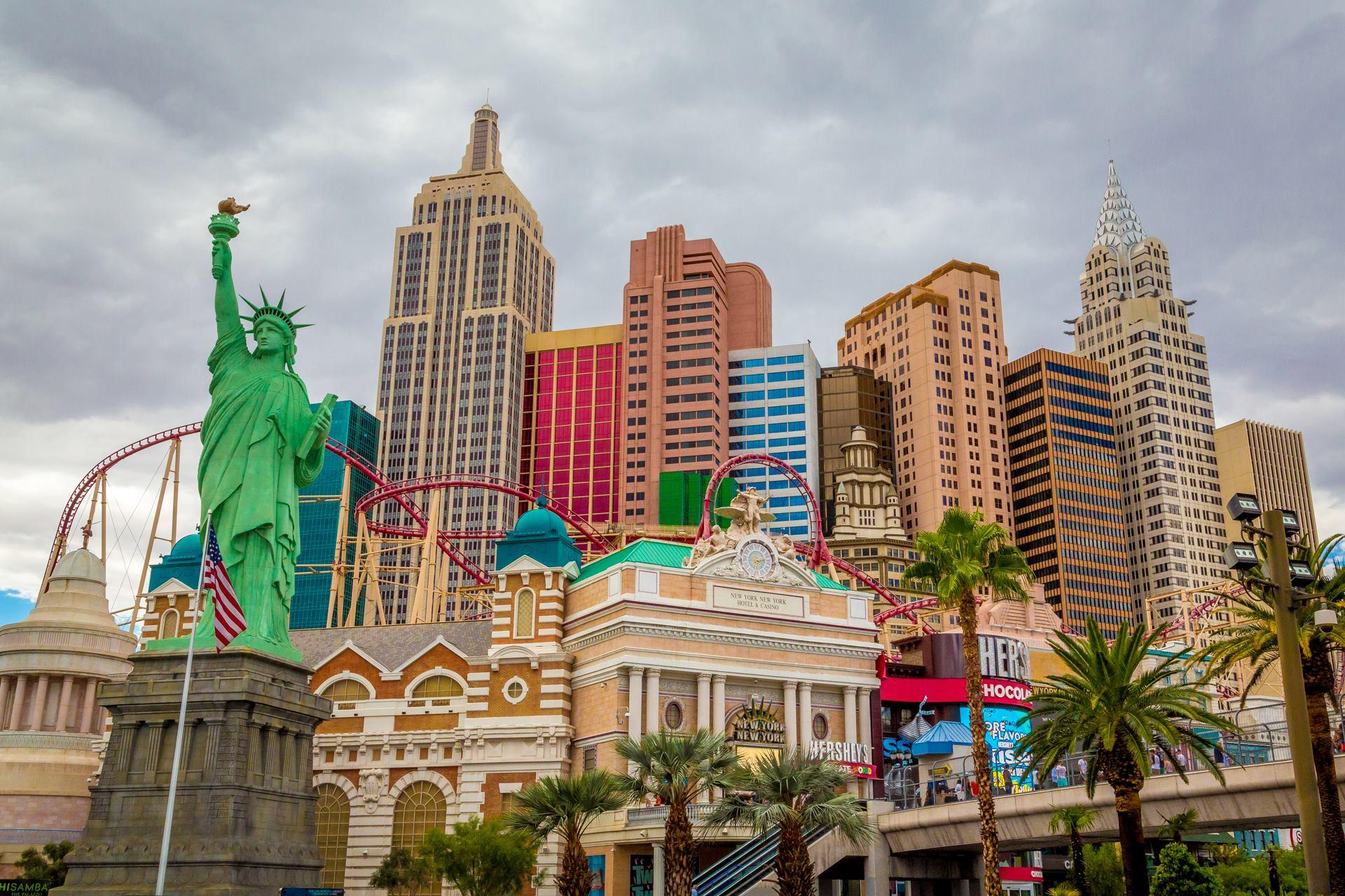 New York in Vegas -  by D Scott Smith