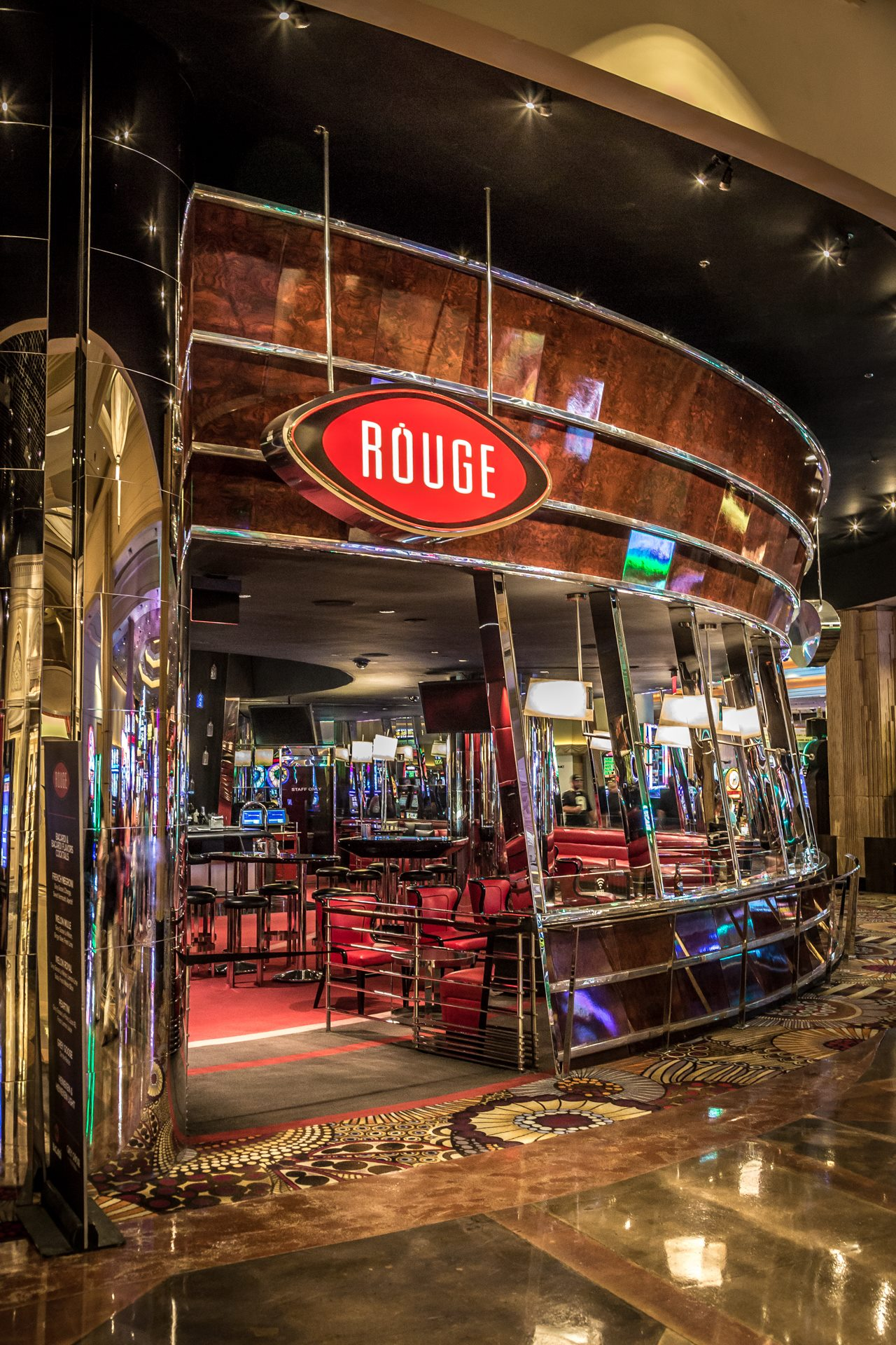 Going Rouge - Rouge resturant, in the MGM Grand, Las Vegas. by D Scott Smith