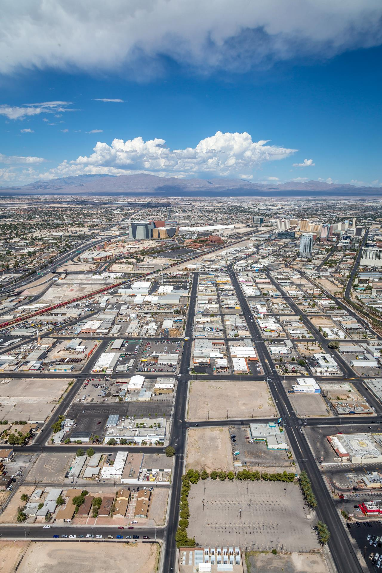 Vegas from the Stratosphere II -  by D Scott Smith