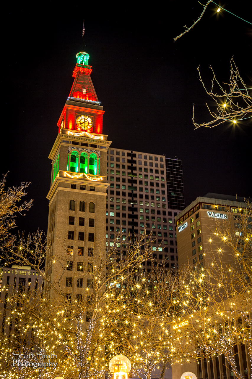 Downtown Denver Christmas 2 -  by D Scott Smith