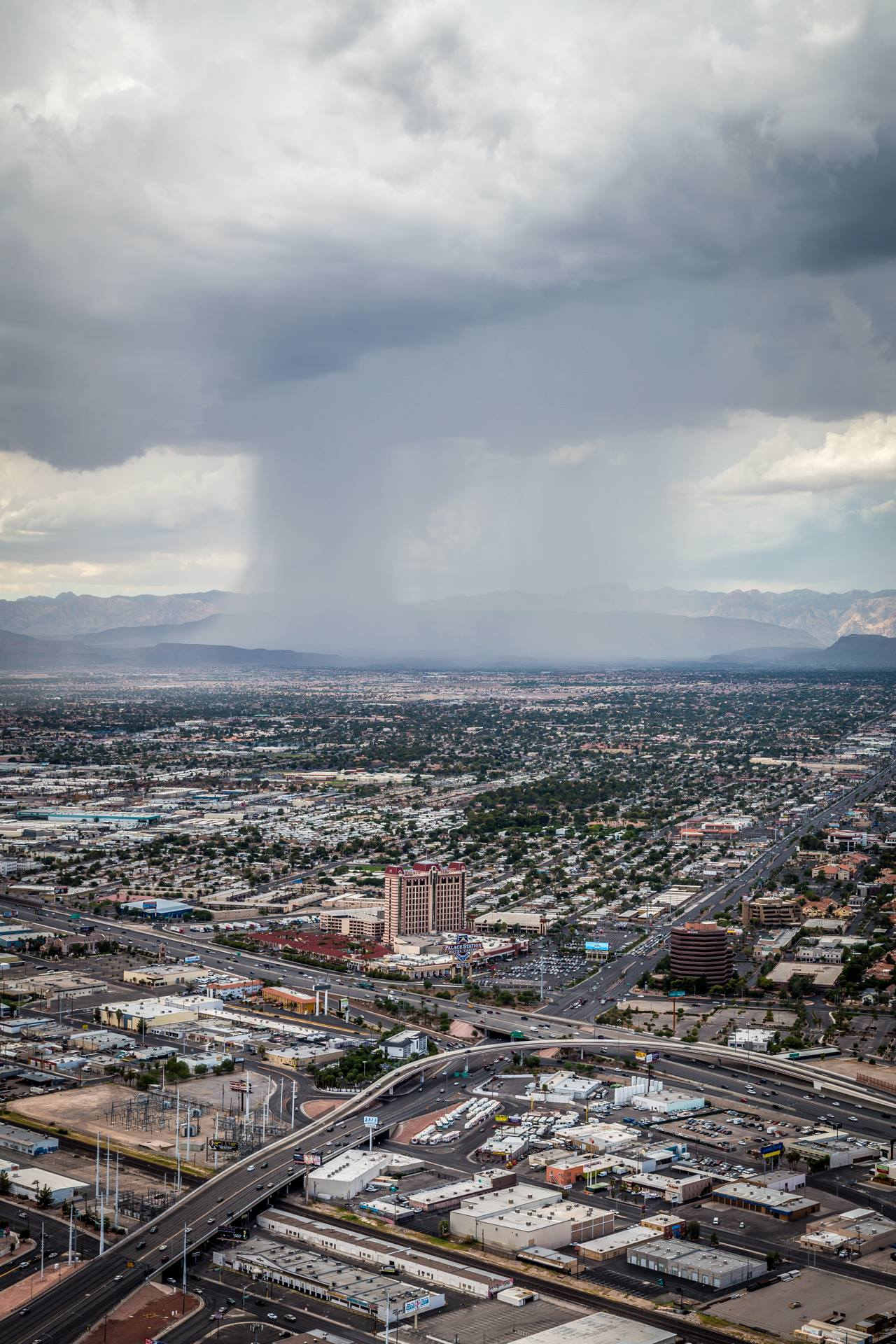 Rain from the West -  by D Scott Smith