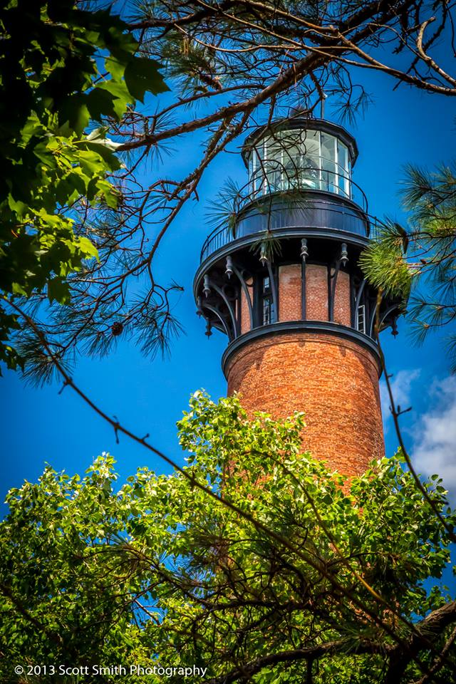 Currituck Lighthouse No 2 - From Currituck, NC, in the Outer Banks. by D Scott Smith