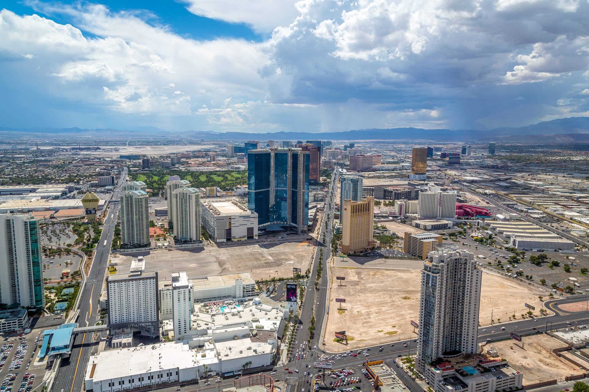 Vegas from the Stratosphere IV -  by D Scott Smith