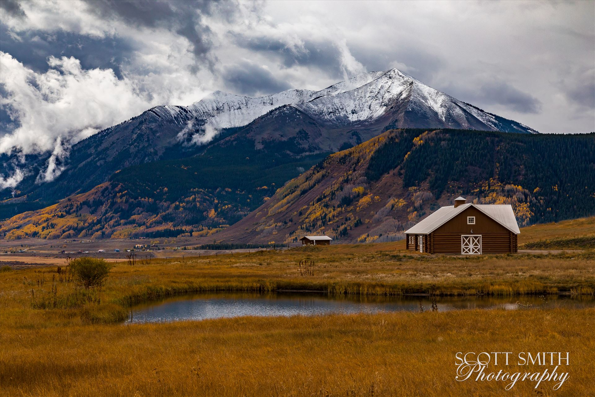 Crested Butte 1 -  by D Scott Smith
