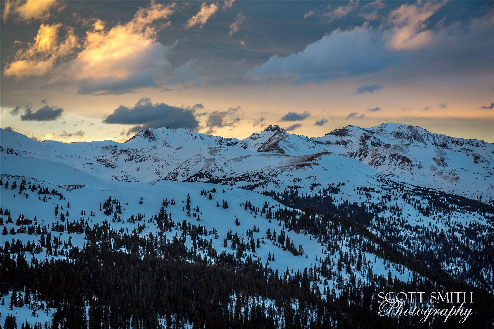 Colorado Winter 12 -  by D Scott Smith