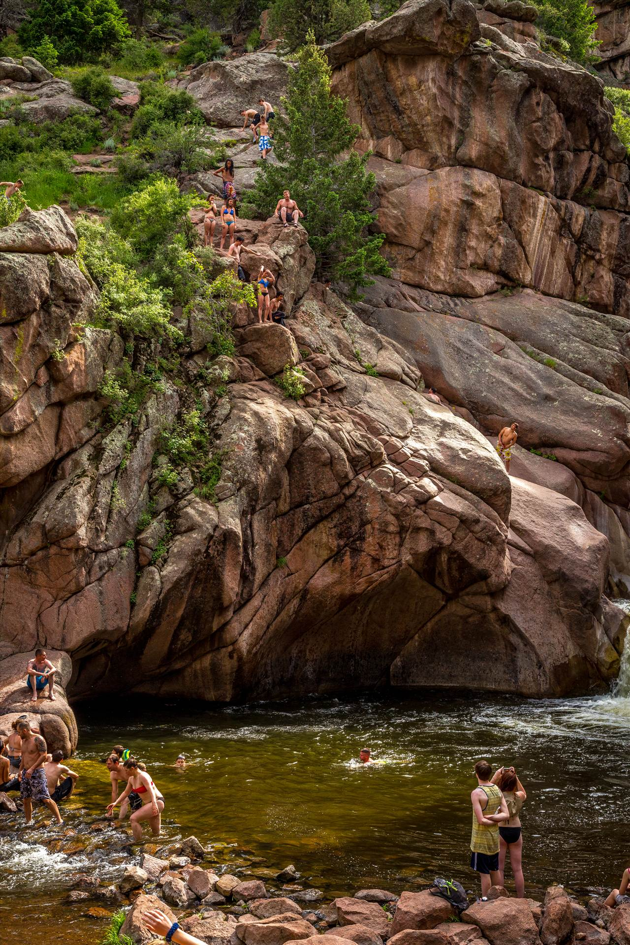 Guffy Cove (Paradise Cove) Colorado 8 -  by D Scott Smith