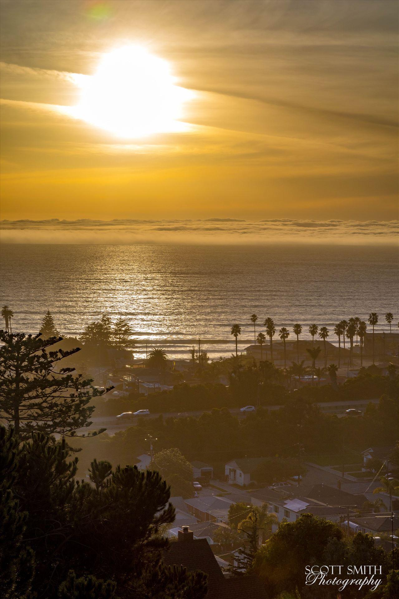 Pismo Beach Sunset 2 -  by D Scott Smith