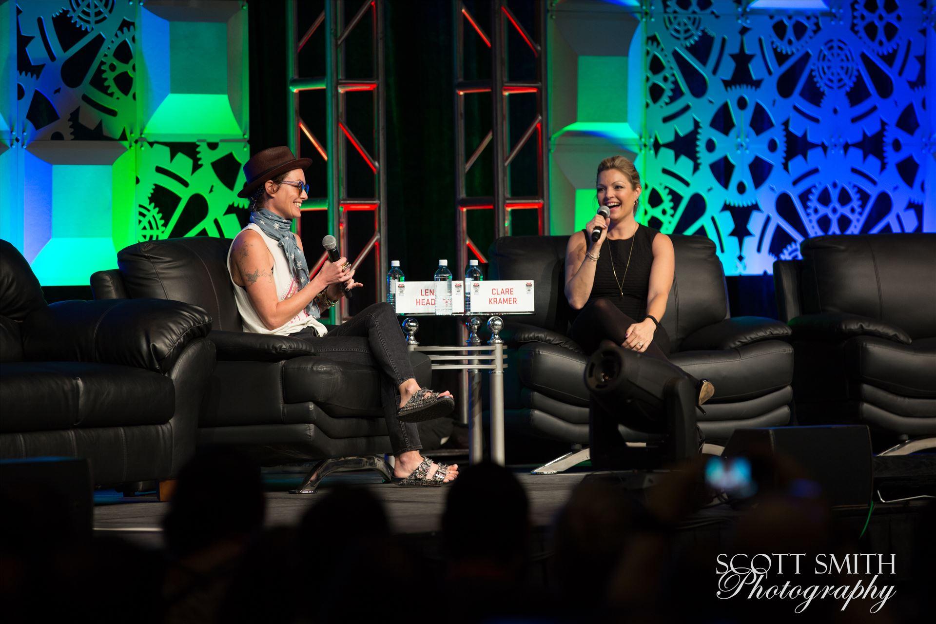 Denver Comic Con 2016 04 - Denver Comic Con 2016 at the Colorado Convention Center. Clare Kramer and Lena Headey. by D Scott Smith