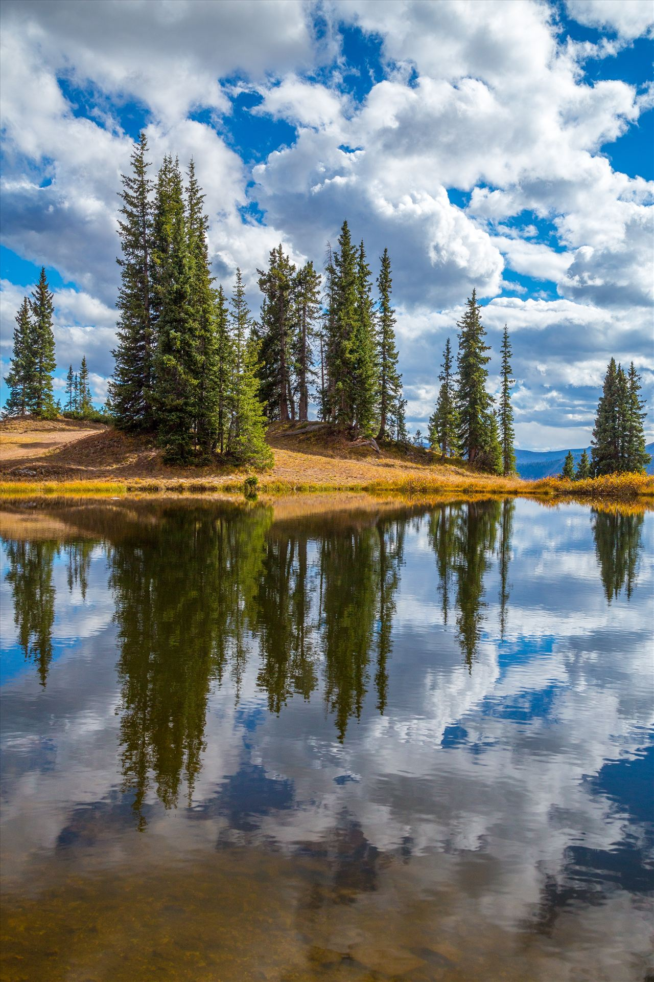 Mount Badly Wilderness Lake - A still, tiny lake sites near the summit of Schofield Pass. by D Scott Smith