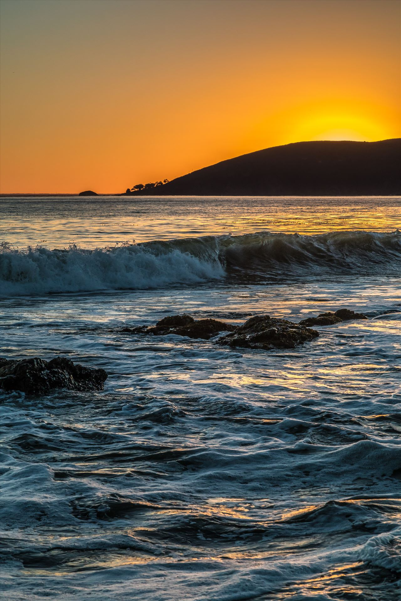 Sunset at Shell Beach 6