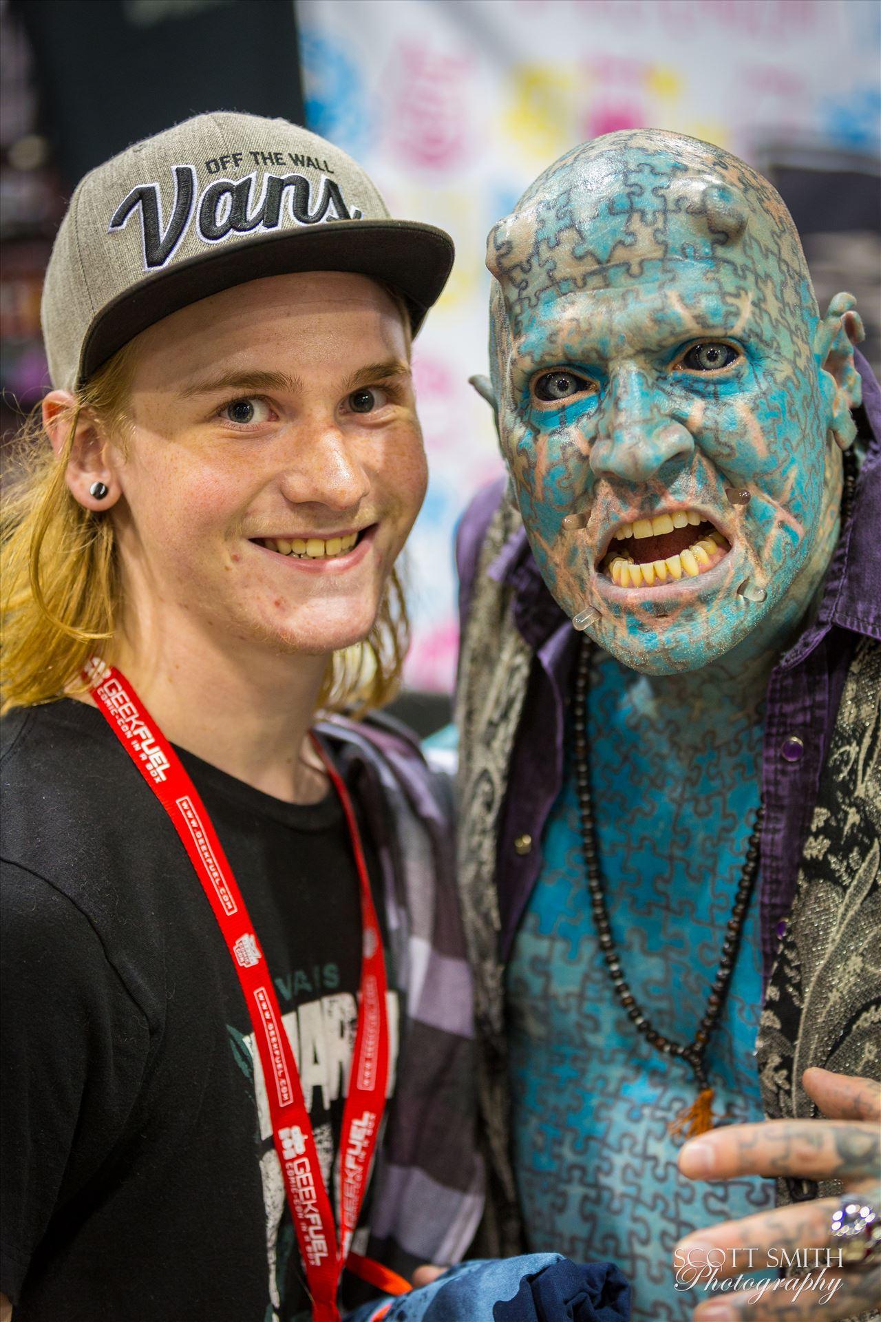 Denver Comic Con 2016 31 - Denver Comic Con 2016 at the Colorado Convention Center. The Enigma with my son. by D Scott Smith