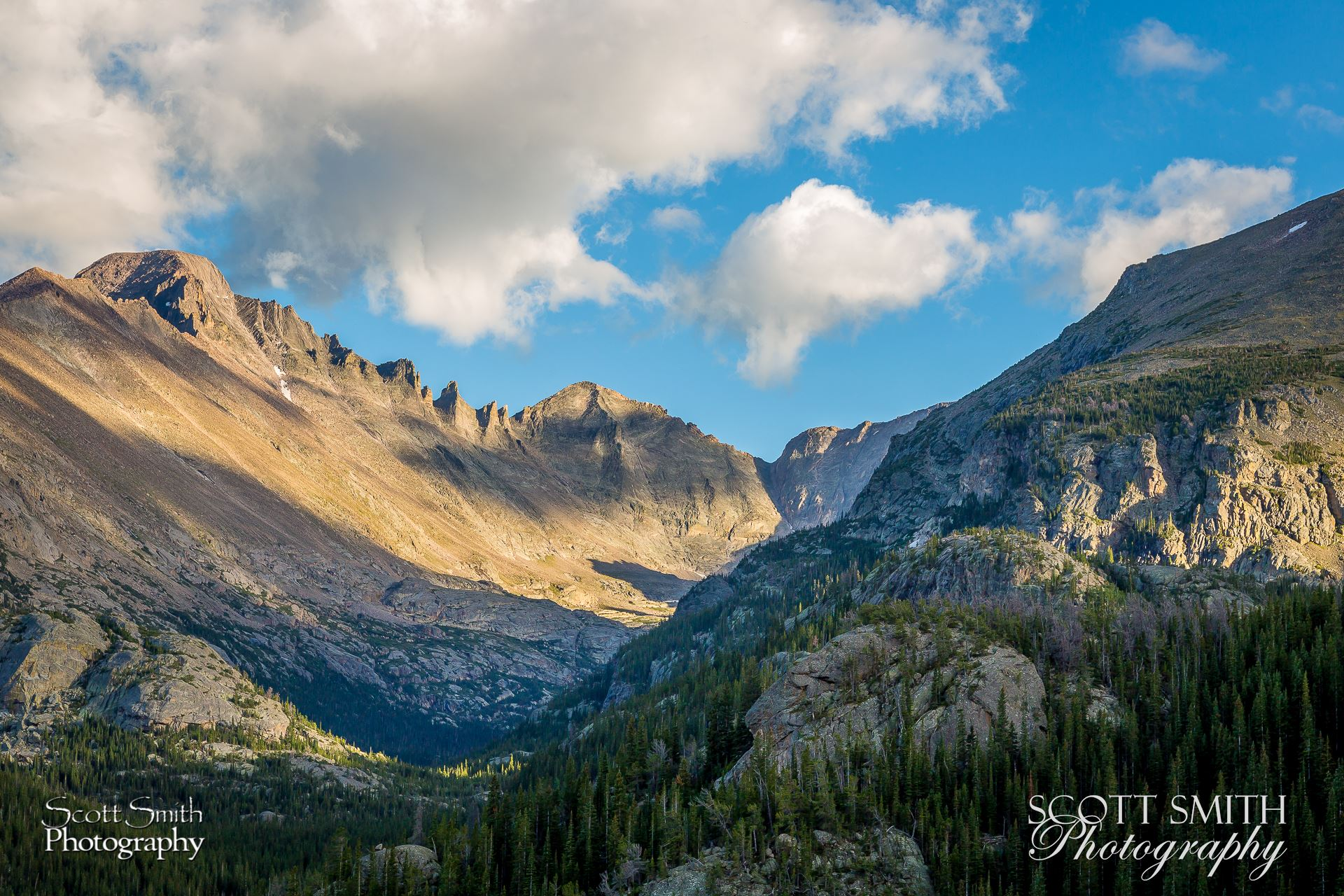 From the Bear Lake trail. -  by D Scott Smith