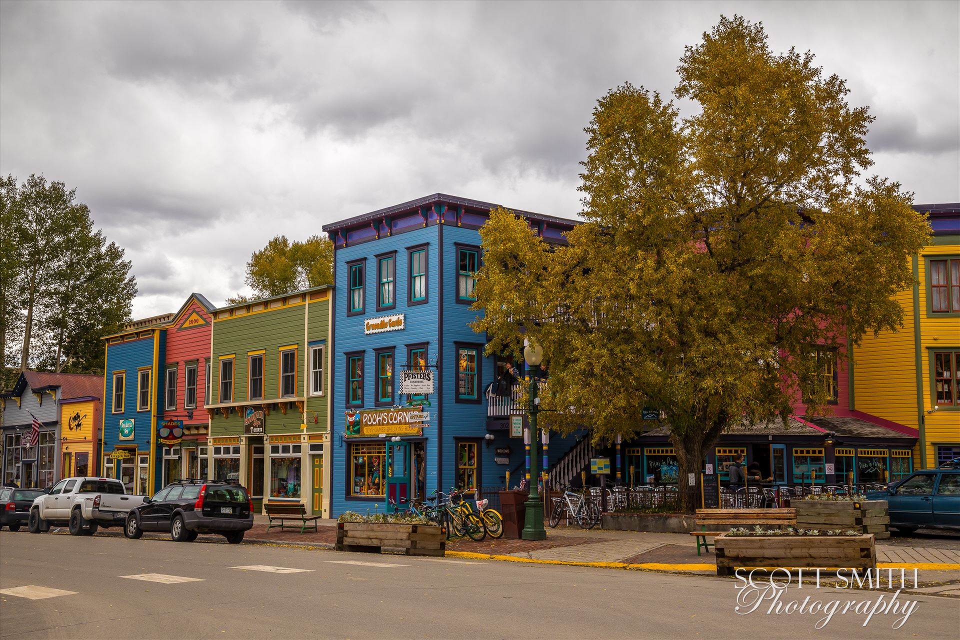Crested Butte Main Street -  by D Scott Smith
