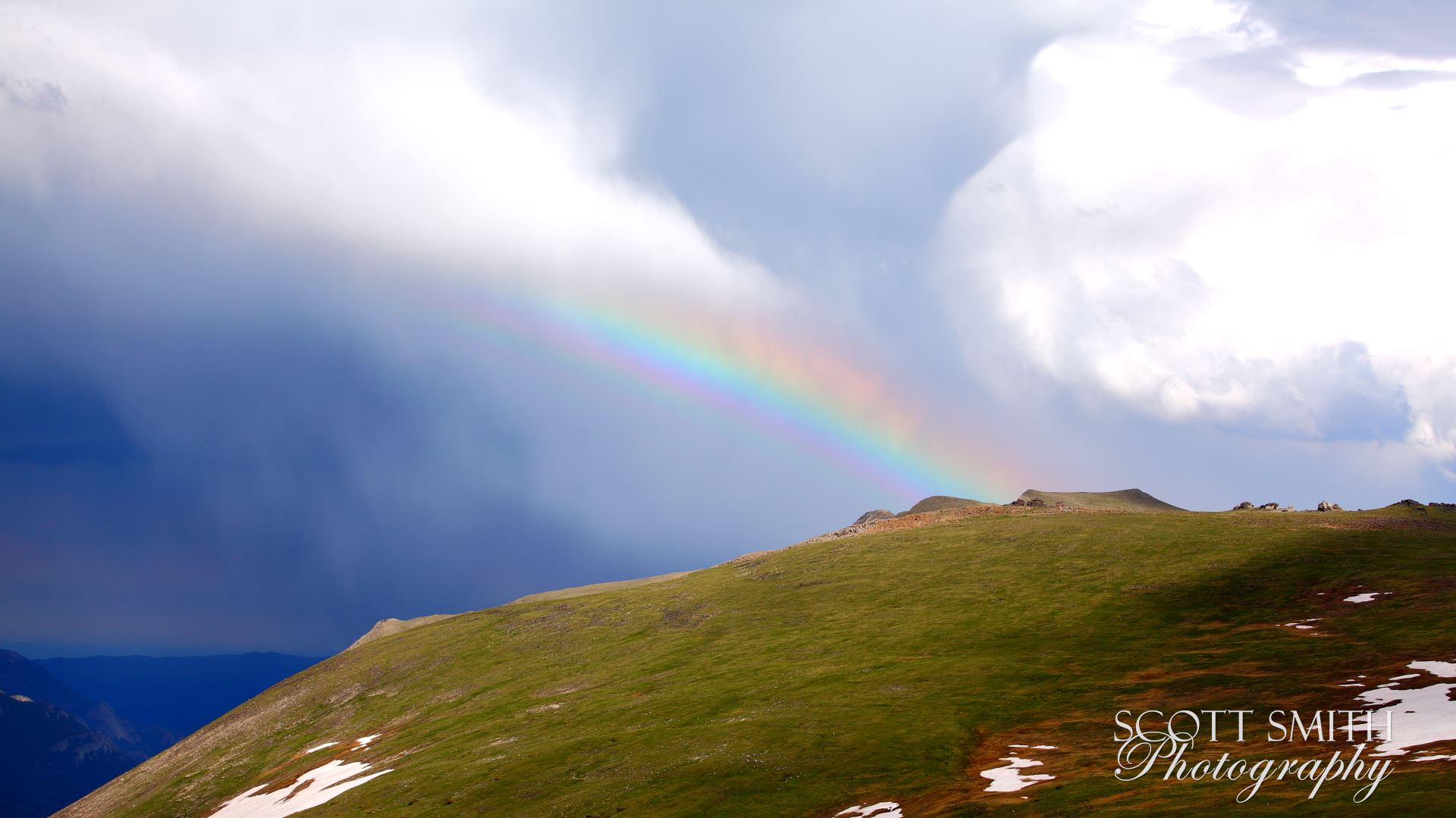 Trail Ridge View 3 -  by D Scott Smith