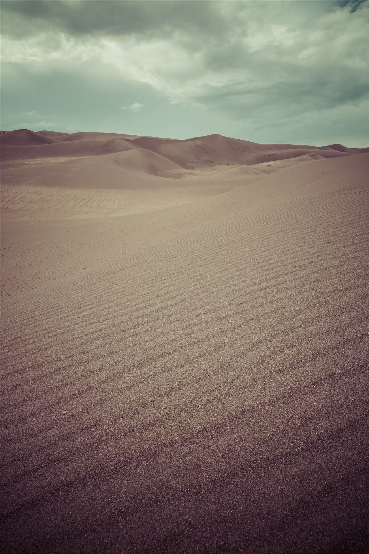 Great Sand Dunes 6 (split toning) -  by D Scott Smith