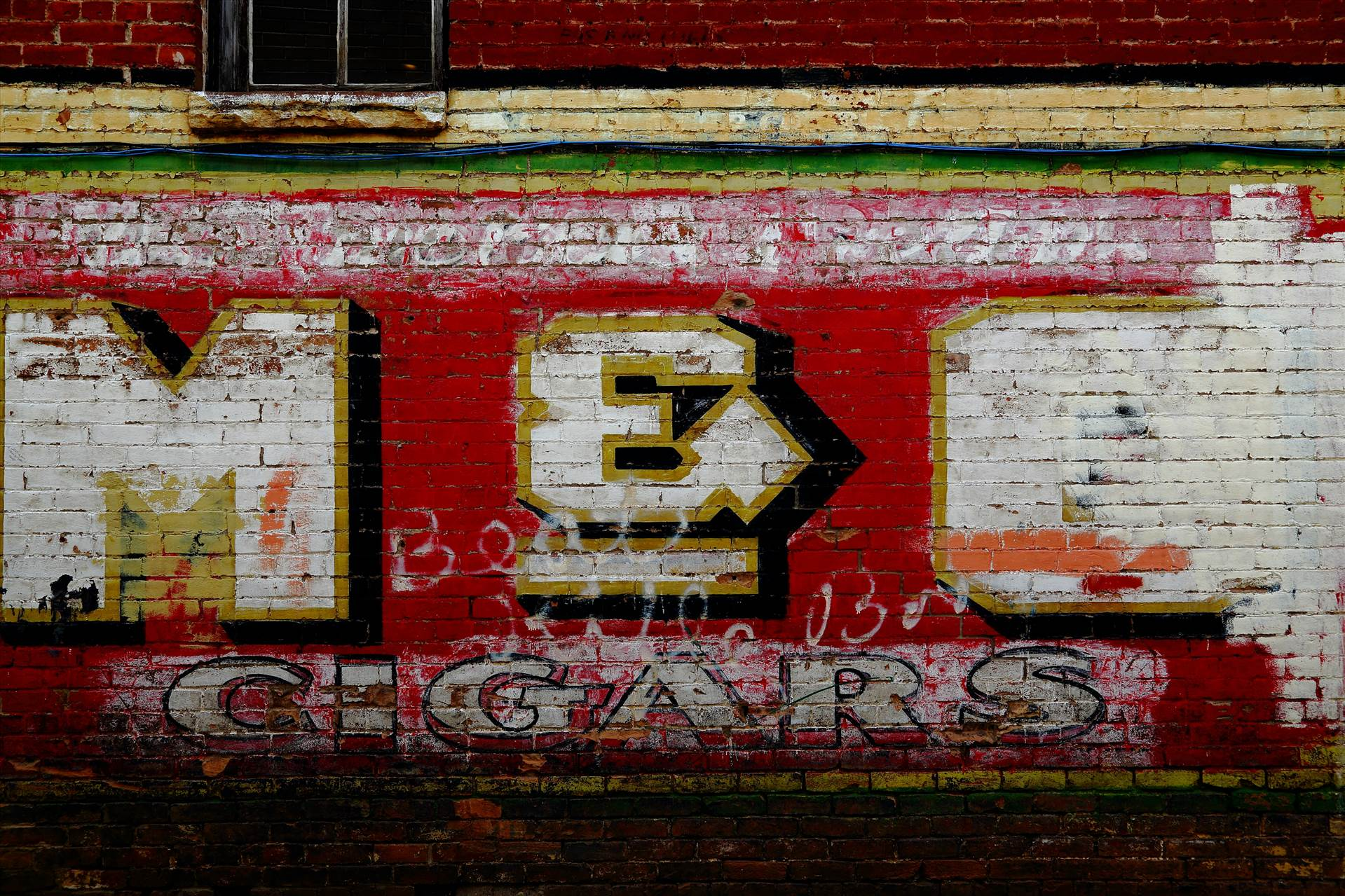 Old Signage in Alley - An alley in Glenwood Springs, CO by D Scott Smith