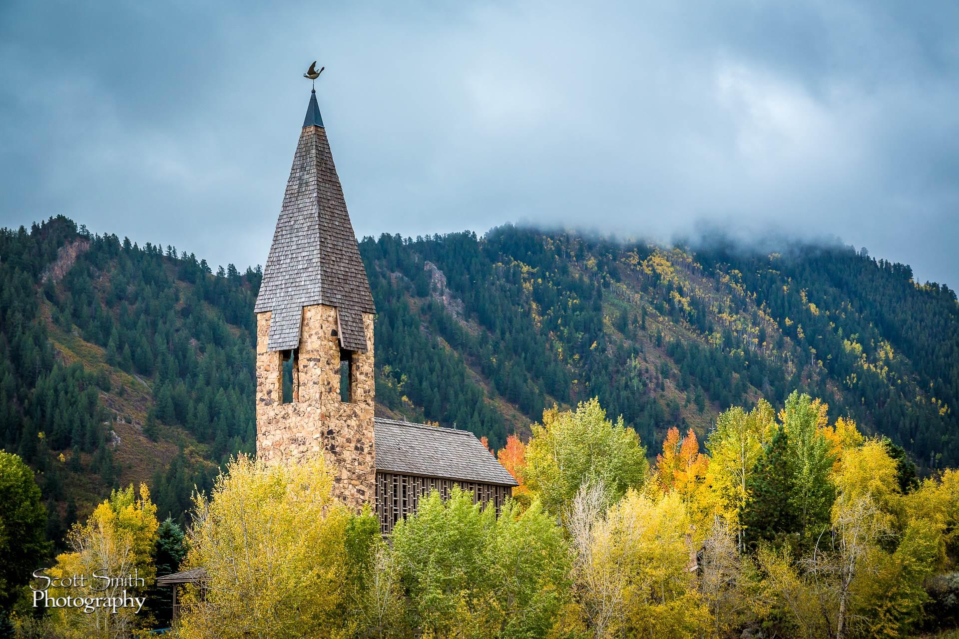 Chapel on Maroon Drive, Aspen -  by D Scott Smith