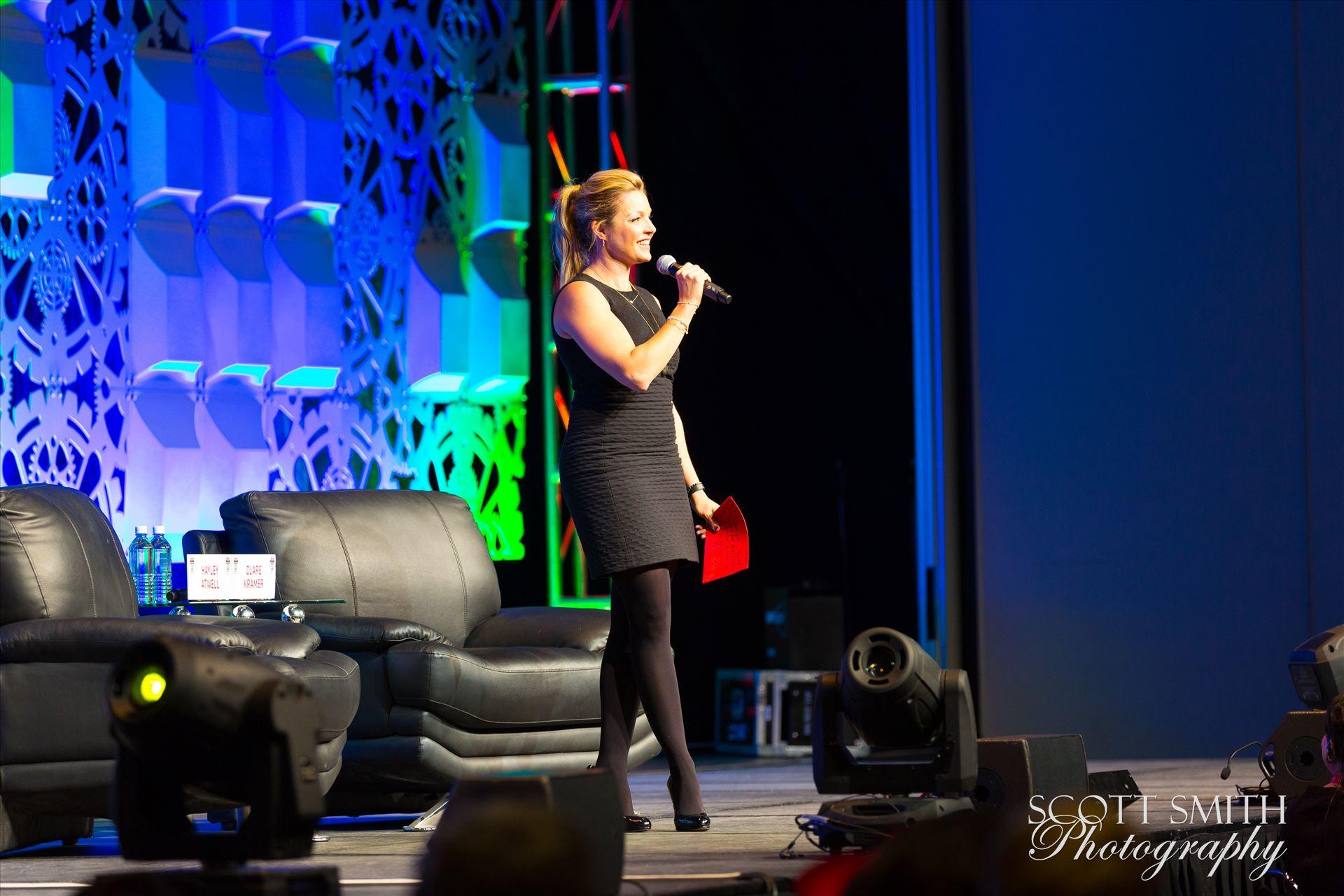 Denver Comic Con 2016 15 - Denver Comic Con 2016 at the Colorado Convention Center. Clare Kramer. by D Scott Smith