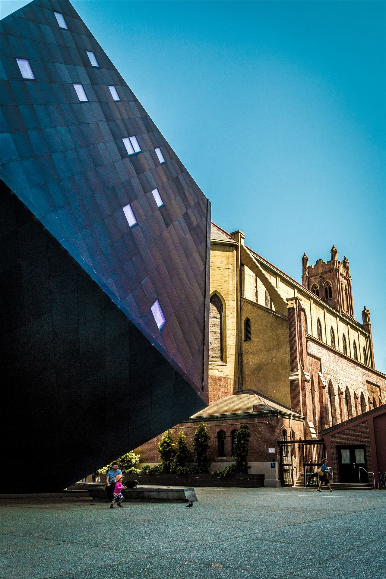 St. Patricks and Museum of Modern Art -  by D Scott Smith