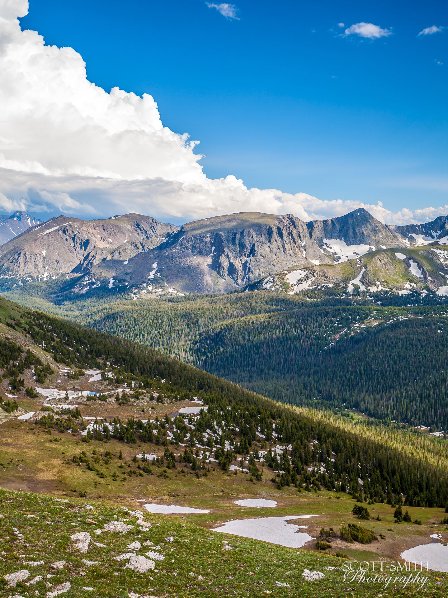 Rocky Mountain National Park 1 -  by D Scott Smith