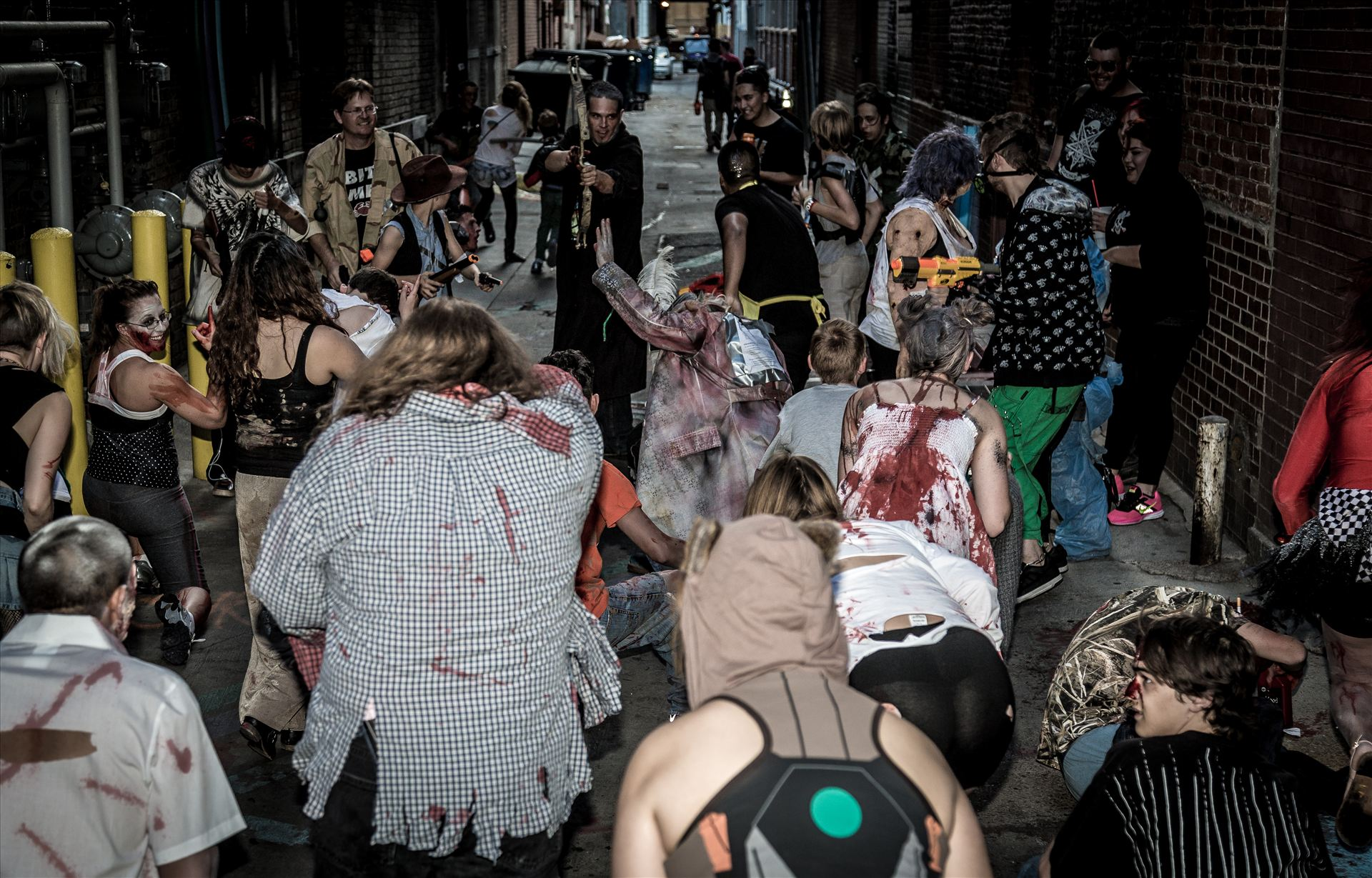 Denver Zombie Crawl 2015 14 -  by D Scott Smith