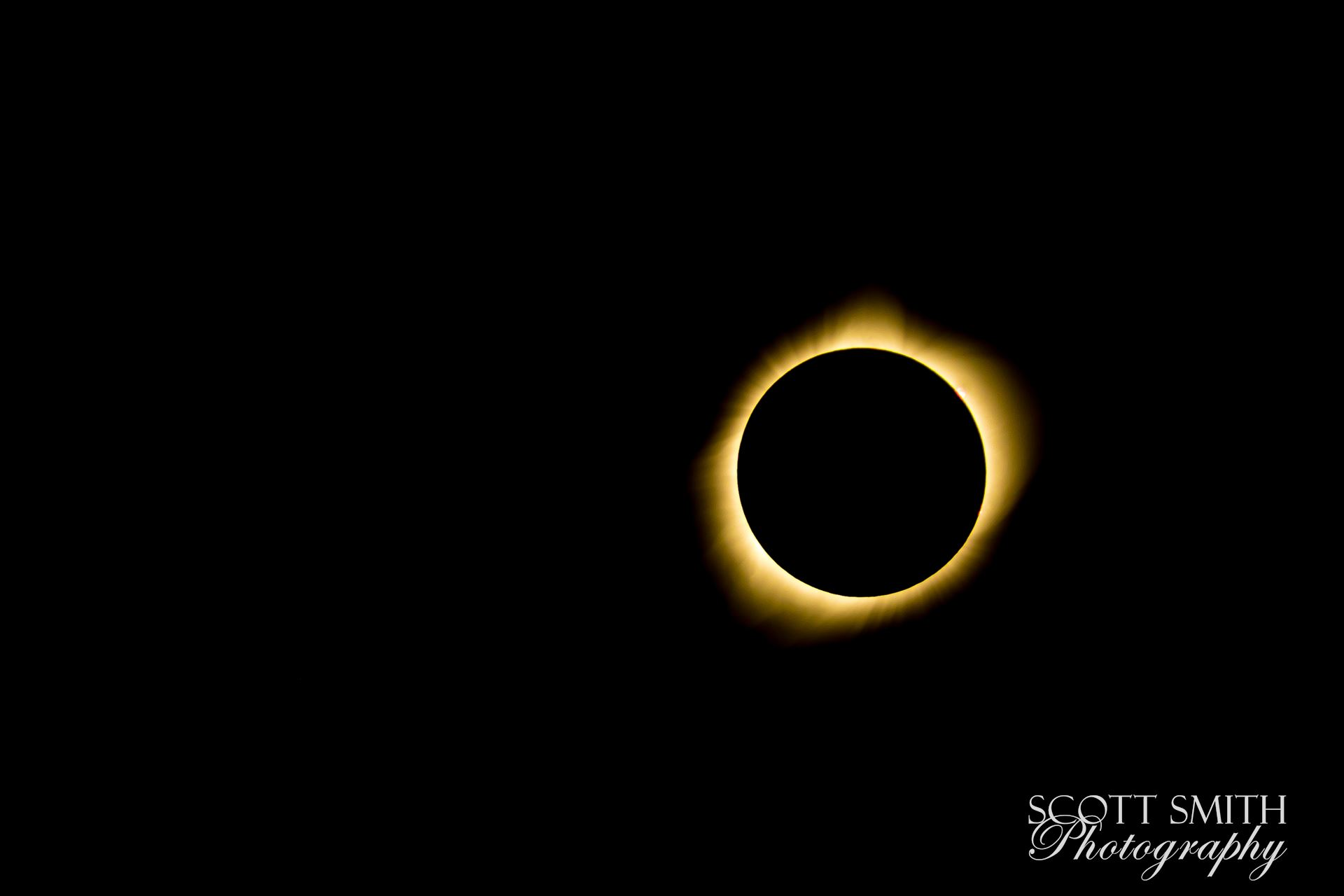 2017 Solar Eclipse 13 - Total solar eclipse, at Carhenge in Alliance. Nebraska August 21, 2017. by D Scott Smith