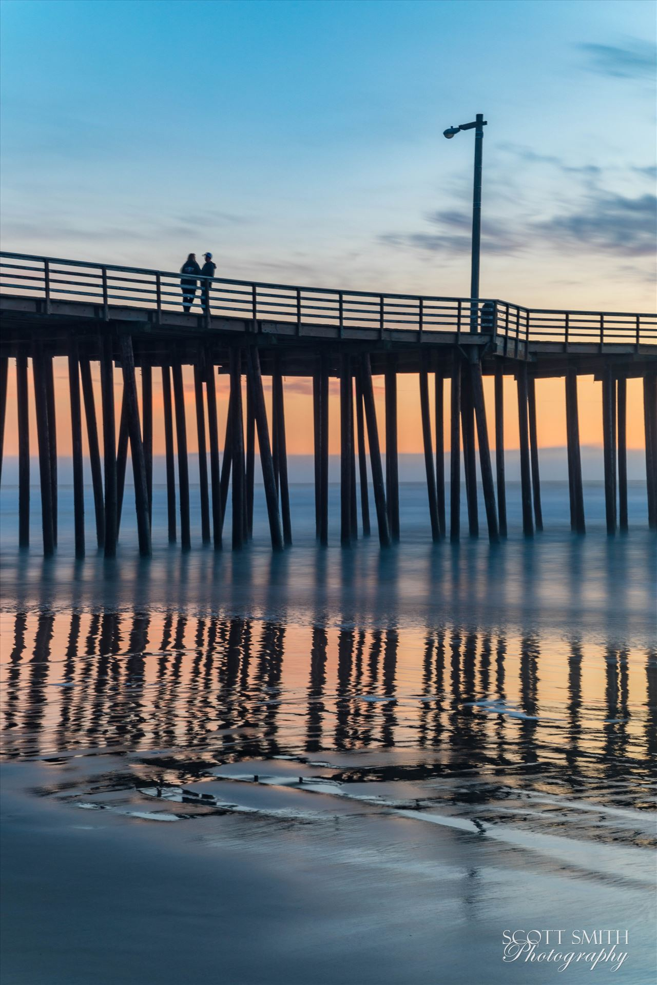 Pismo Beach Pier 3 -  by D Scott Smith