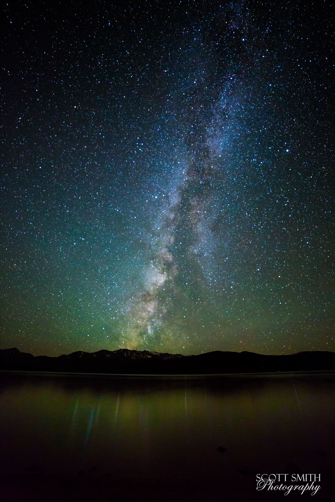 Milky Way at Turquoise Lake - 25 second exposure of the Milky Way from Turqouise Lake, Leadville Colorado. by D Scott Smith