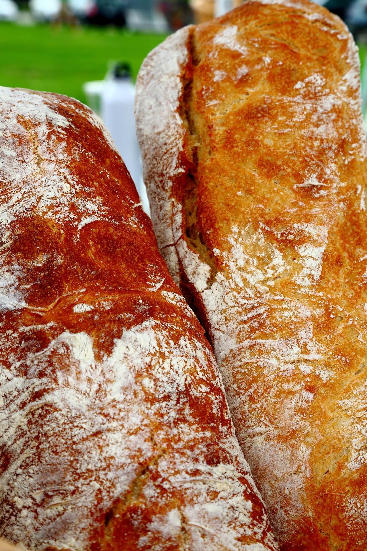 Chiabatta - Farmer's Market fresh chiabatta bread. by D Scott Smith