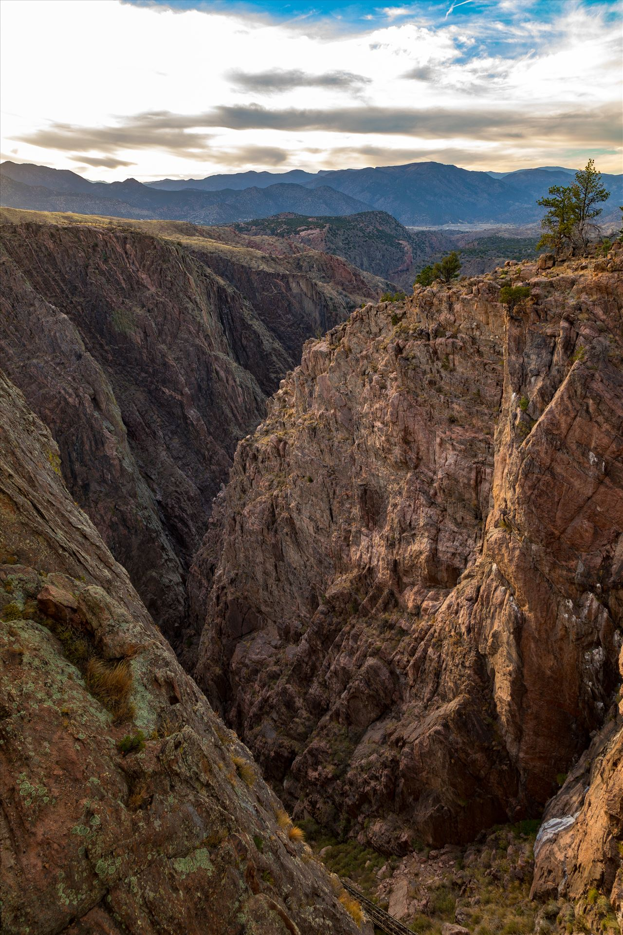 Royal Gorge No 1 - The view of the Royal Gorge, in Canon City Colorado. by D Scott Smith