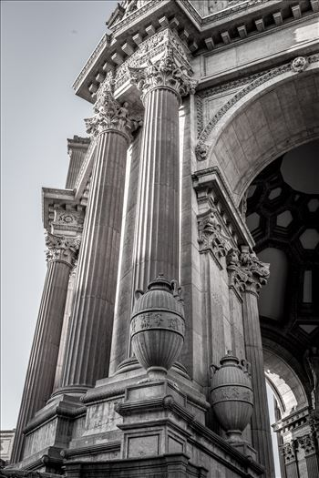 Palace of Fine Arts Detail by D Scott Smith