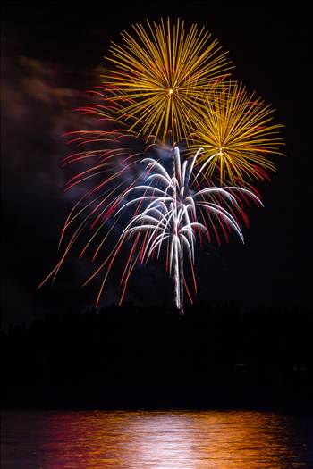 Dillon Reservoir Fireworks 2015 11 by D Scott Smith