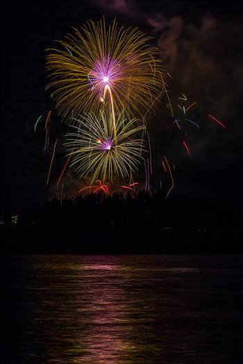 Dillon Reservoir Fireworks 2015 56 by D Scott Smith