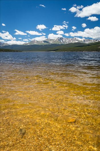 Clear Water at Turquoise Lake - Summer at Turquoise Lake, Leadville, Colorado.