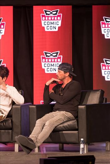 Skeet Ulrich at Denver Comic Con 2018 by D Scott Smith