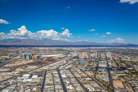 Vegas from the Stratosphere III by D Scott Smith