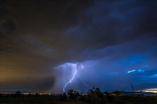 Lightning Flashes 8 by D Scott Smith
