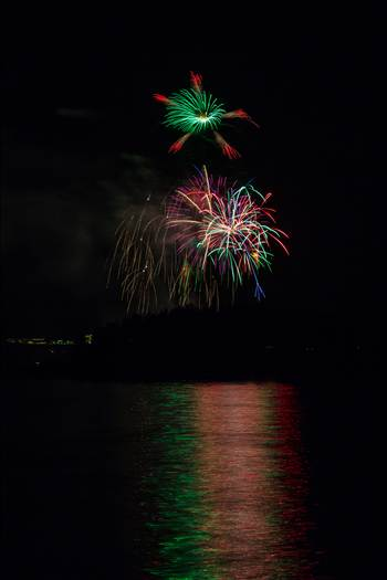 Dillon Reservoir Fireworks 2015 26 by D Scott Smith