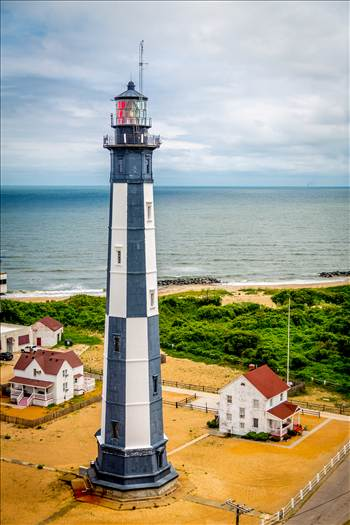 Cape Henry Lighthouse in Virgina by D Scott Smith