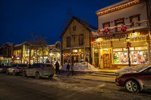 Breckenridge in Wintertime 13 by D Scott Smith