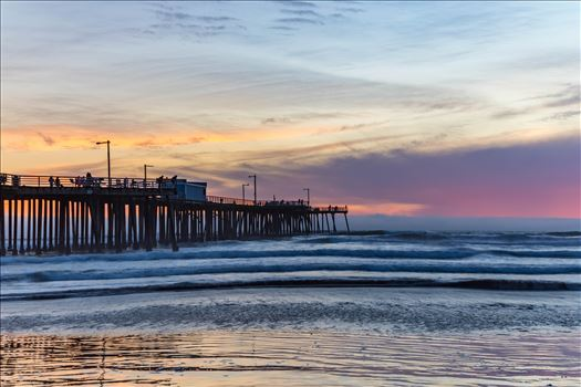 Pismo Beach Pier 2 by D Scott Smith