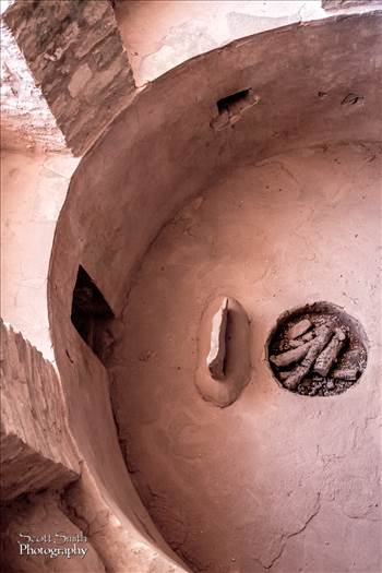 Manitou Cliff Dwellings - A ceremonial area within the Manitou cliff dwellings.
