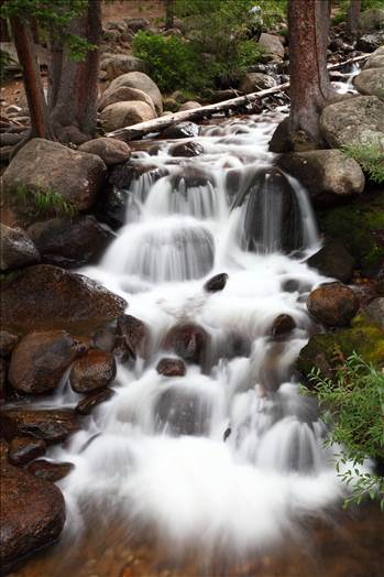 Mt Evans Waterfall II by D Scott Smith