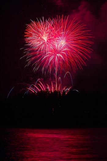 Dillon Reservoir Fireworks 2015 60 by D Scott Smith