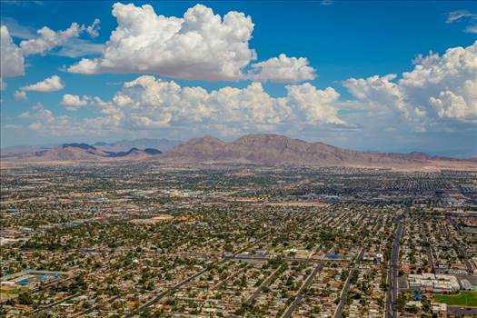 Vegas from the Stratosphere by D Scott Smith