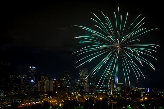 Elitch's Fireworks 2016 - 8 by D Scott Smith