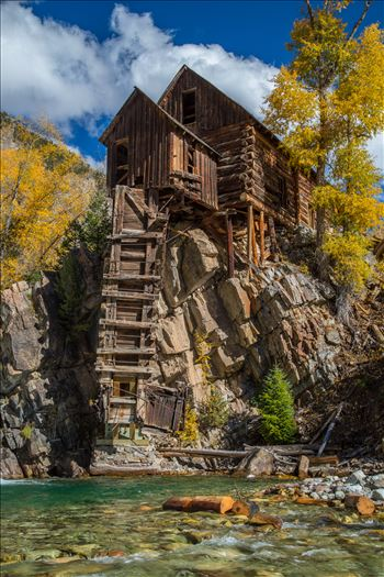 Crystal Mill, Colorado 14 by D Scott Smith