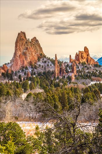 Garden of the Gods Spires No 2 by D Scott Smith
