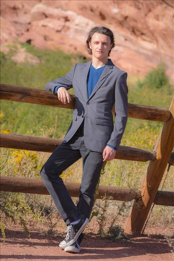 Ryan Fredericks - Senior Session 38 by D Scott Smith