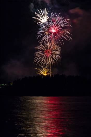 Dillon Reservoir Fireworks 2015 54 by D Scott Smith
